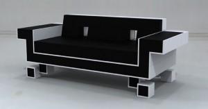 "Igor Chak's ""Retro Alien Couch"""