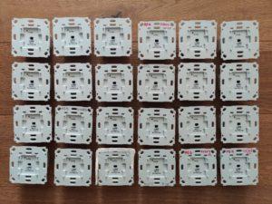 Bild von 24 HomeMatic Unterputz-Schaltaktoren
