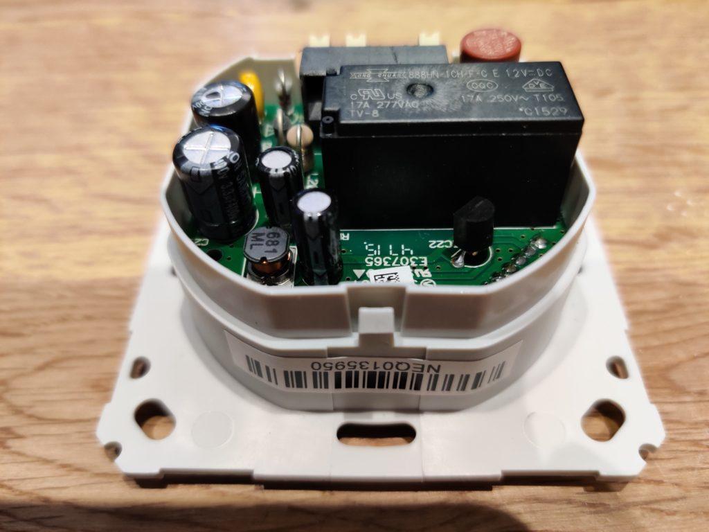 Foto von einem alten HomeMatic-Schalter