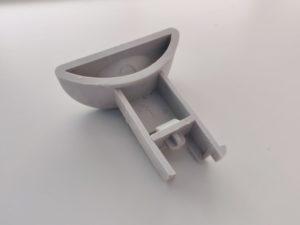 AEG Favorit: Klarspülerverschluss. Pinöckel abgebrochen.
